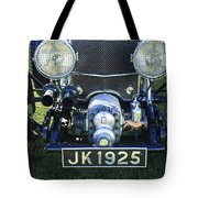1931 Bentley 4.5 Liter Supercharged Le Mans Grille Tote Bag
