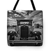 1931 Model T Ford Monochrome Tote Bag
