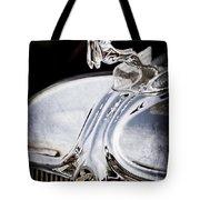 1933 Chrysler Imperial Hood Ornament - Emblem Tote Bag