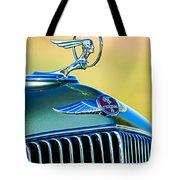 1933 Pontiac Hood Ornament - Emblem Tote Bag