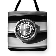 1934 Alfa Romeo 8c Zagato Emblem Tote Bag