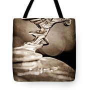 1934 Packard Coupe Hood Ornament Tote Bag