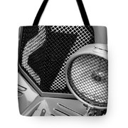 1935 Aston Martin Ulster Race Car Grille Tote Bag