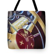 1937 Cord 812 Phaeton Steering Wheel Tote Bag
