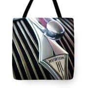 1937 Hudson Terraplane Sedan Hood Ornament Tote Bag
