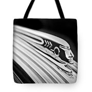 1937 Pontiac Chief Custom Hood Ornament Tote Bag