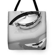 1939 Aston Martin 15-98 Abbey Coachworks Swb Sports Grille Emblem Tote Bag