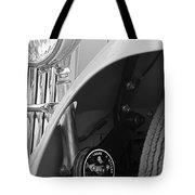 1939 Aston Martin 15-98 Abbey Coachworks Swb Sports Suspension Control Tote Bag