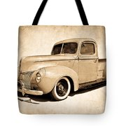 1940 Ford Pickup Tote Bag