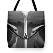 1940 Lincoln Zephyr Grille Emblem - Hood Ornament Tote Bag