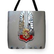 1941 Cadillac Emblem Tote Bag