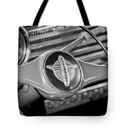 1941 Chevrolet Steering Wheel Emblem Tote Bag