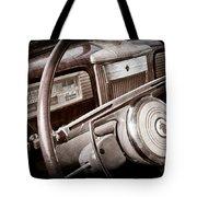1941 Packard Steering Wheel Emblem Tote Bag