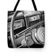 1941 Packard Steering Wheel Tote Bag