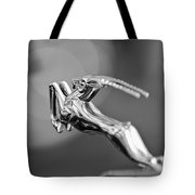 1948 Chrysler Town And Country Convertible Hood Ornament Tote Bag