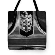 1948 Dodge D24 Club Coupe Emblem Tote Bag by Jill Reger