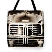 1948 Lincoln Continental Grille Emblem Tote Bag
