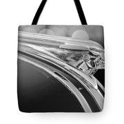 1948 Pontiac Streamliner Woodie Station Wagon Hood Ornament Tote Bag