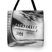 1949 Chevrolet 3100 Pickup Truck Emblem Tote Bag