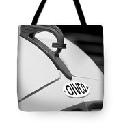 1950 Divco Milk Truck Hood Ornament Tote Bag