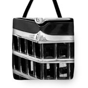1950 Willys Jeepster Grille Emblem Tote Bag