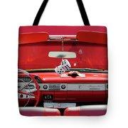 1950s Chevrolet Impala Detail Tote Bag