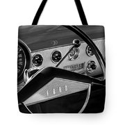 1951 Ford Crestliner Steering Wheel Tote Bag by Jill Reger