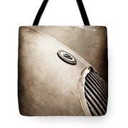 1951 Jaguar Grille Emblem Tote Bag