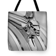 1951 Pontiac Streamliner Hood Ornament Tote Bag by Jill Reger