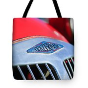 1952 Frazer-nash Le Mans Replica Mkii Competition Model Grille Emblem Tote Bag