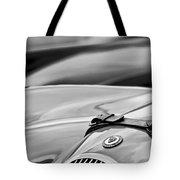 1952 Jaguar Xk 120 John May Speciale Hood Emblem Tote Bag