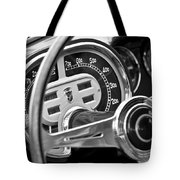 1953 Fiat 8v Ghia Supersonic Steering Wheel Tote Bag