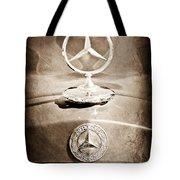 1953 Mercedes Benz Hood Ornament Tote Bag