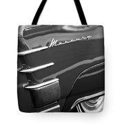 1953 Mercury Monterey Wheel Emblem Tote Bag