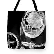 1954 Chevrolet Corvette Head Light Tote Bag