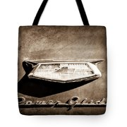 1954 Chevrolet Power Glide Emblem Tote Bag