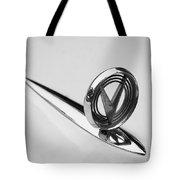 1955 Buick Special Hood Ornament Tote Bag