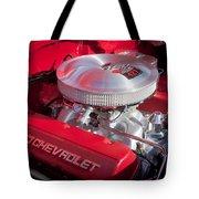 1955 Chevrolet 210 Engine Tote Bag