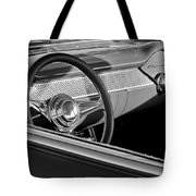 1955 Chevrolet 210 Steering Wheel Tote Bag