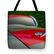 1955 Fiat 8v Zagato Hood Emblem Tote Bag