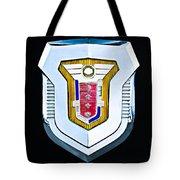 1955 Mercury Montclair Convertible Emblem Tote Bag
