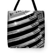 1956 Chevrolet 3100 Pickup Truck Grille Emblem Tote Bag