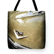 1956 Chevrolet Hood Ornament - Emblem Tote Bag
