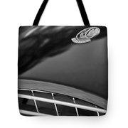 1957 Ac Ace Bristol Roadster Hood Emblem Tote Bag