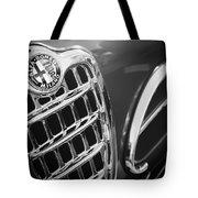 1957 Alfa-romeo 1900c Super Sprint Grille Emblem Tote Bag