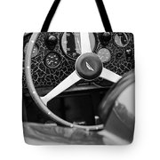 1957 Aston Martin Dbr2 Steering Wheel Tote Bag by Jill Reger