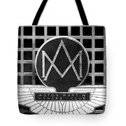 1957 Aston Martin Owner's Club Emblem Tote Bag by Jill Reger