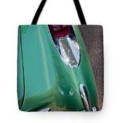 1957 Chevrolet Corvette Taillight Tote Bag