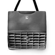 1957 Ferrari 410 Superamerica Coupe Grille Emblem Tote Bag
