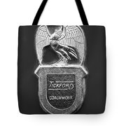 1958 Aston Martin Db Mark IIi Tickford Coupe' Emblem Tote Bag